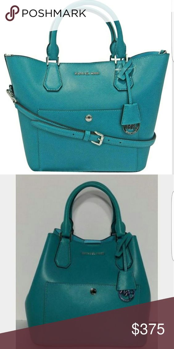 Michael Kors Teal Greenwich Excellent condition. Like new. More photos coming soon. Michael Kors Bags Totes