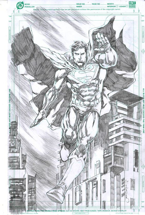 JLA Superman by jgalino on deviantART