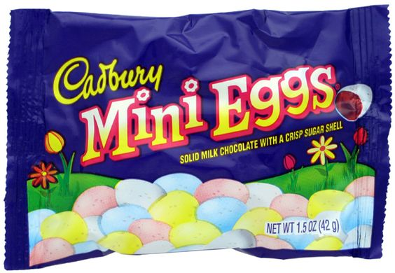 Adoration is not too strong a term for how I feel about these. But OMGosh, they are addictive.  Easter crack, I tell you!
