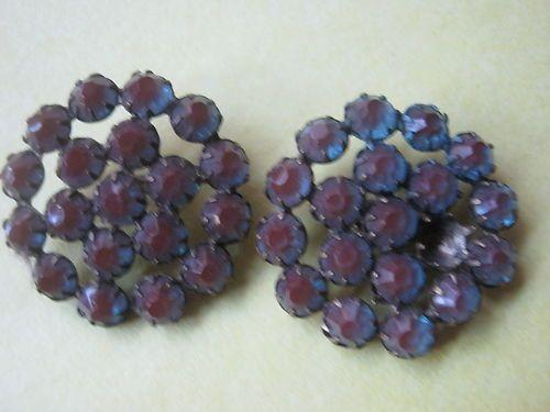 pr of saphiret buttons