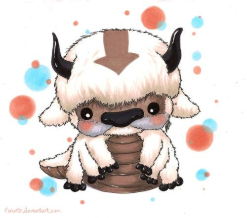 Baby Avatar 2: SQUEEEE! Appa From Avatar The Last Airbender