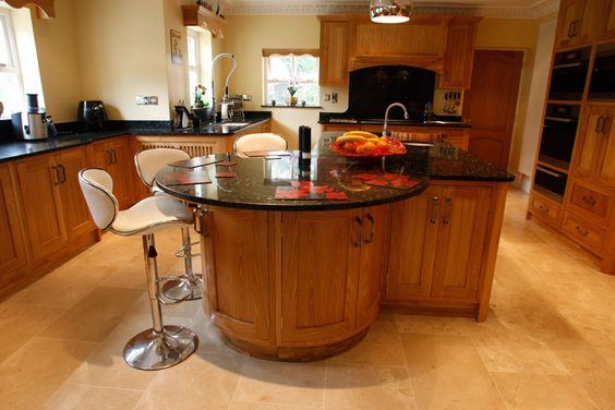 kitchen designs with islands and bars kitchen island breakfast bar curved feeling curvaceous 9355