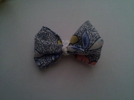 Spring Garden Bow Clip by PeaceLoveAndRibbon on Etsy, $1.80