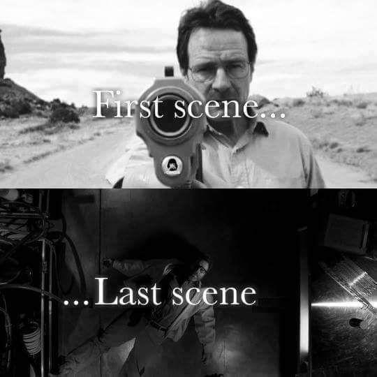 Walter White Heisenberg Breaking Bad Series Y Peliculas