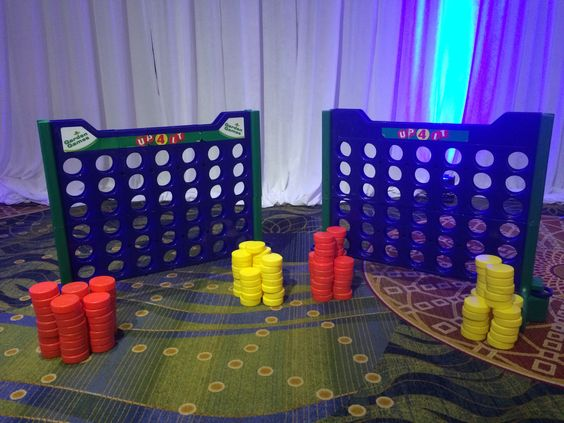 Giant Connect 4 at Avendra 15 Year Anniversary Event at Bethesda North Marriot. Planning & Coordination by  Favored by Yodit Events | DC Event Planner