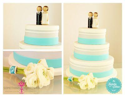 Bolo de Casamento / Wedding Cake - The Family Cakes