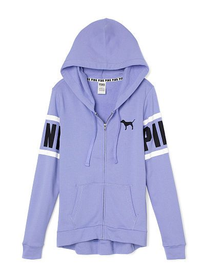 Perfect Full-Zip Hoodie | vs pink | Pinterest | Graphics, Love and ...