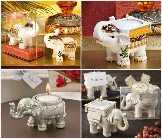 Elephant Candle Holder from HotRef