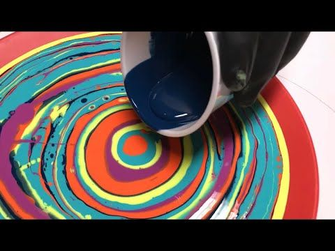 Paint Pouring Art Youtube