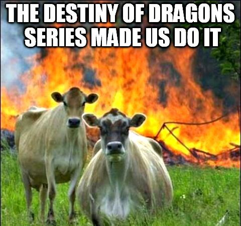 Promotional for epic #action ♂ #adventure ☼ #fantasy ☺ #magic ♥ #romance ♀ The Destiny of Dragons series by Billie-Jo Williams available on #Amazon, #BarnesAndNoble, #Blio, #Diesel, #iTunes, #Kobo, #SonyStore, #Smashwords and #Goodreads!