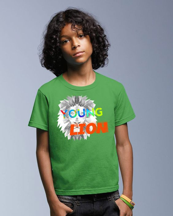 Young Lion Youth Short Sleeve Shirt (5 Colors)
