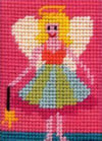 Beginner Needlepoint Kit - Fairy. Back by popular demand.