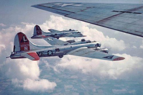 Boeing B-17 formation