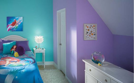 Pin by megan chisholm on disney paint colors pinterest - Purple and pink bedroom paint ideas ...