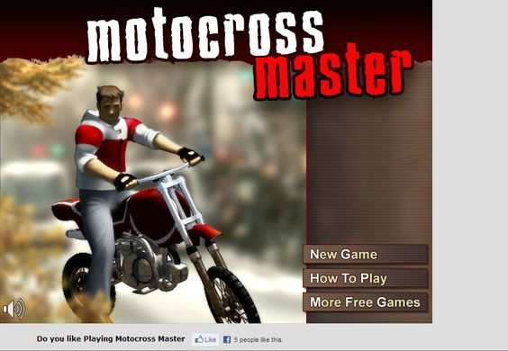 Free Games To Play Now : Welcome to online free motocross master game play now