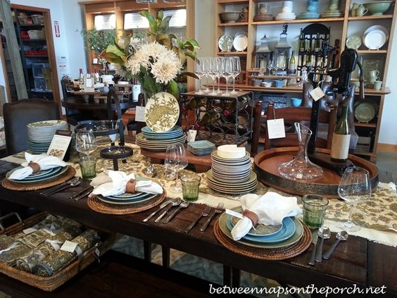 Pinterest the world s catalog of ideas for Dining room tablescapes ideas