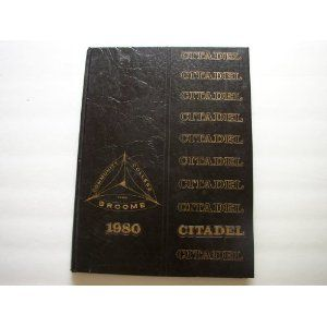 Yearbook Broome Community College 1980 Binghamton NY New York Citadel BCC (Hardcover)  http://aqkv.info/alooklike.php?p=B0057OOOHY  B0057OOOHY