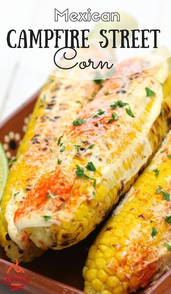 Mexican Campfire Street Corn
