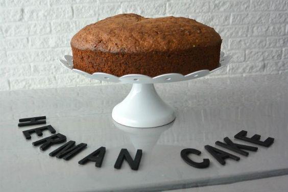 simple thoughts herman cake, vriendschapsbrood, vriendschapscake. Op Simple thoughts het recept