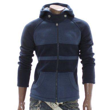 Doublju Mens Casual Zip Hoodie Jacket