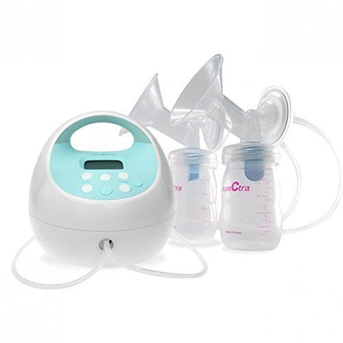 Spectra S1 Plus Rechargeable Electric Double Breast Pump Hospital Grade Bundle