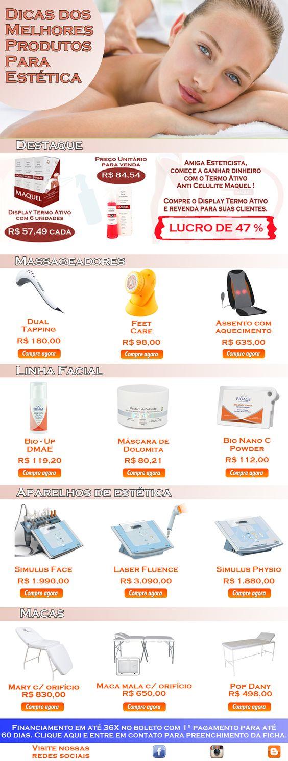 Essa semana tem ofertas de massageadores, macas e tudo para você ganhar dinheiro, só aqui na Casa do Esteticista! Acesse o link e veja nossas ofertas: http://d-app.casadoesteticista.com.br/e/18628/72/0/32faa