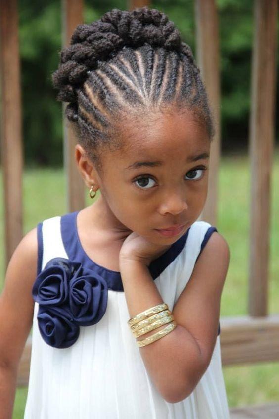 Wondrous Black Girls Hairstyles Kid And African Americans On Pinterest Short Hairstyles Gunalazisus