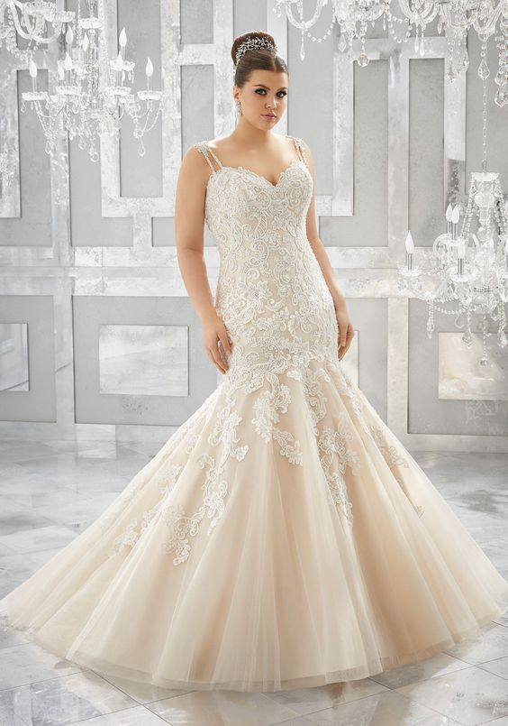 Plus Size Musetta Wedding Dress