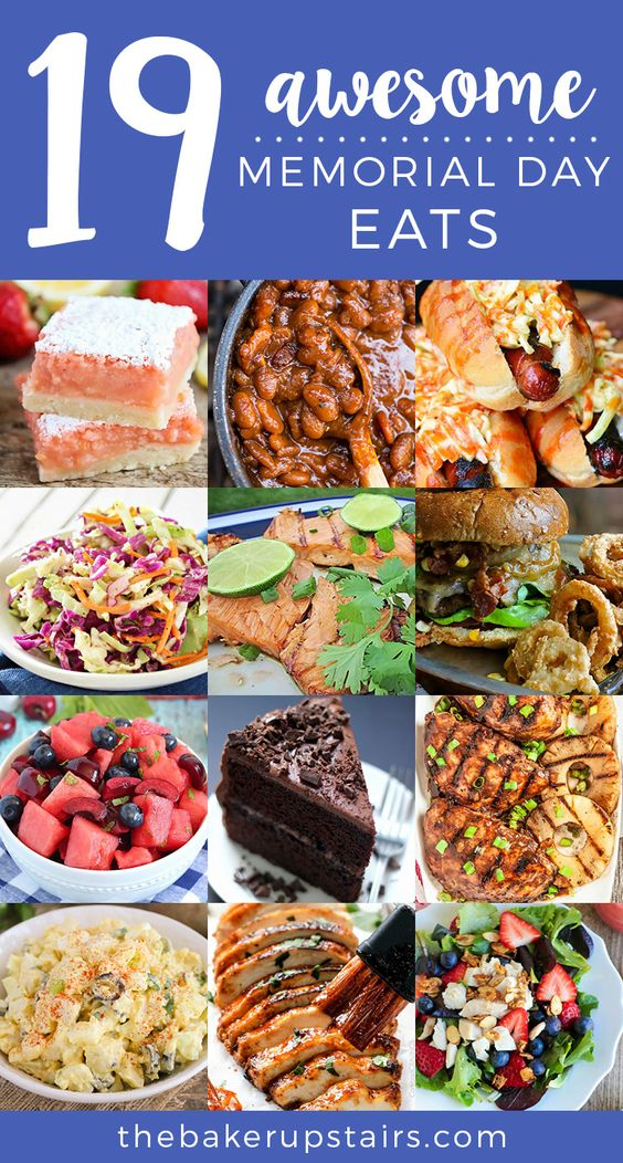 19 Awesome Memorial Day Eats!