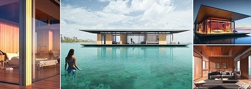 Property with panoramic sea views for sail! Architect designs incredible floating home… but you may want to decamp to dry land in a stormPeople have long chosen to live on the water in house boats, but this design for a floating house…View Post