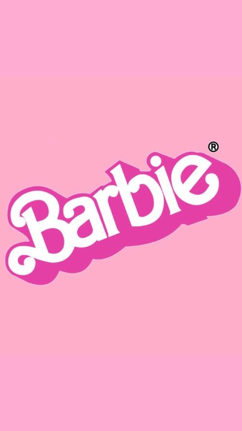 Image via We Heart It barbie Moschino pink wallpaper