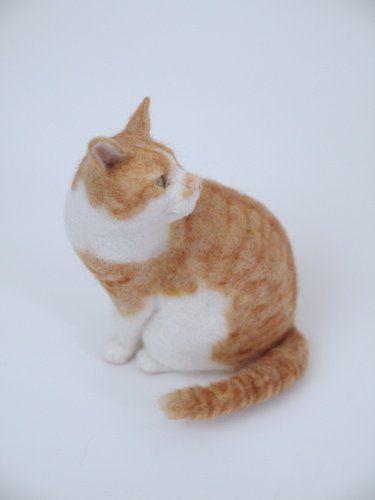 まるで生きてるみたい! 羊毛フェルト猫を堪能できる「猫ラボ」初個展 - Excite Bit コネタ(2/3)