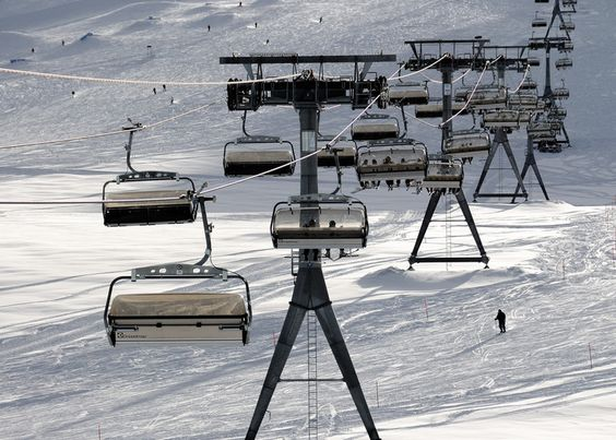 Furggsattel Gletscherbahn