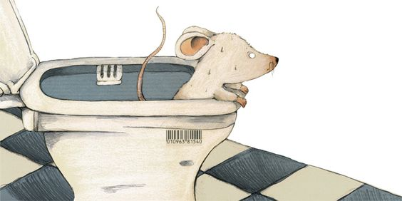 Mouse With Problems Illustration by Judith Loske www.judith-loske.de: