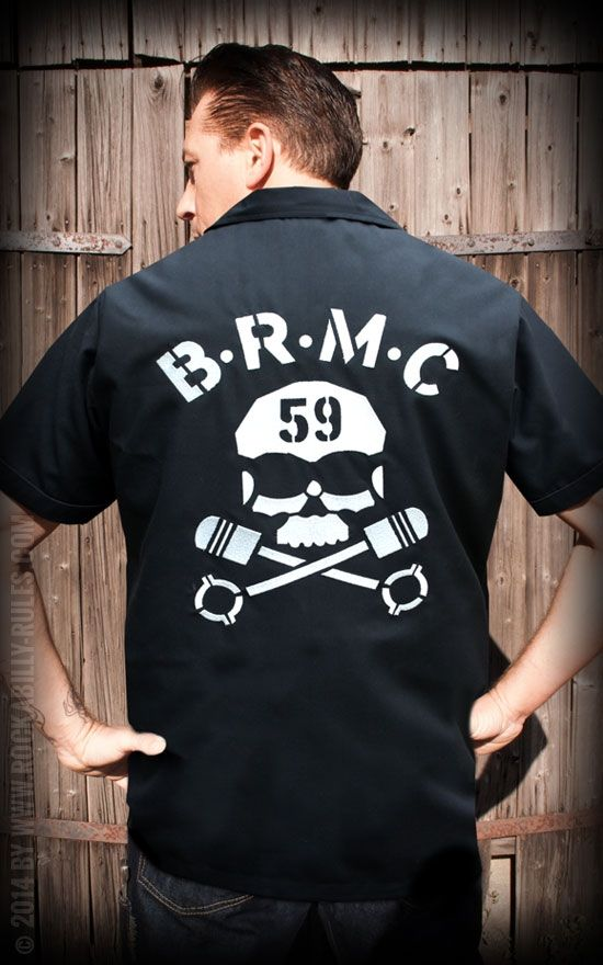 Worker Shirt - BRMC by Rumble59 | Rockabilly - 50s Style