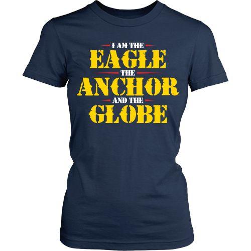 Marines - Eagle Anchor Globe 4