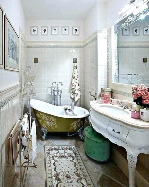 Retro Bathroom Decorating Ideas Vintage Bathroom Decor Vintage