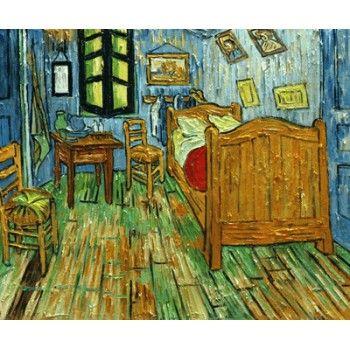 Schlafzimmer bei Arles - Van Gogh berühmte gemälde reproduktionen - schlafzimmer in arles