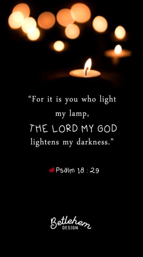 Bible Verse Psalm 18 29 The Lord Mazmur Ayat Alkitab