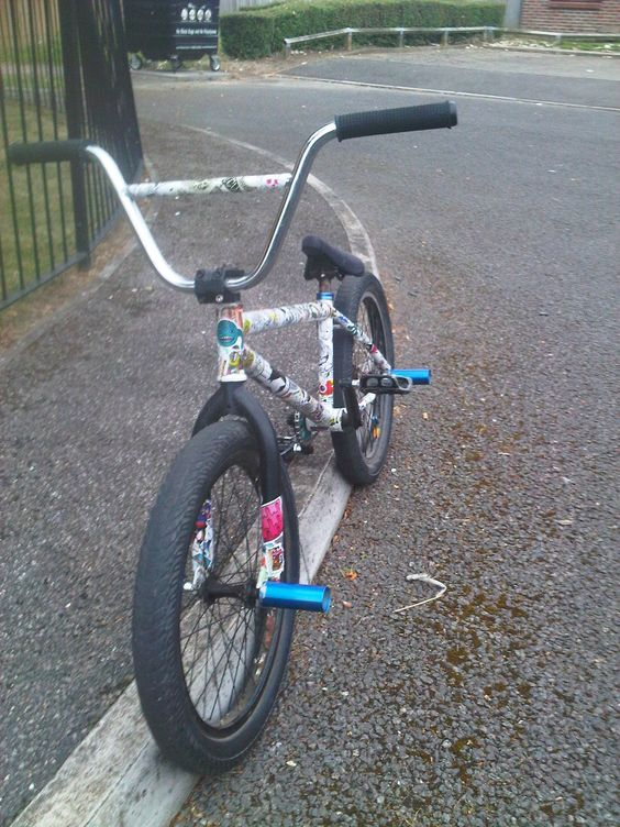sticker bombed custom bmx | sticker bomb | Pinterest | Bmx and ... : Custom Stickers For Bmx Bikes For Kids