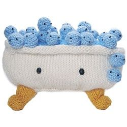knit bathtub.