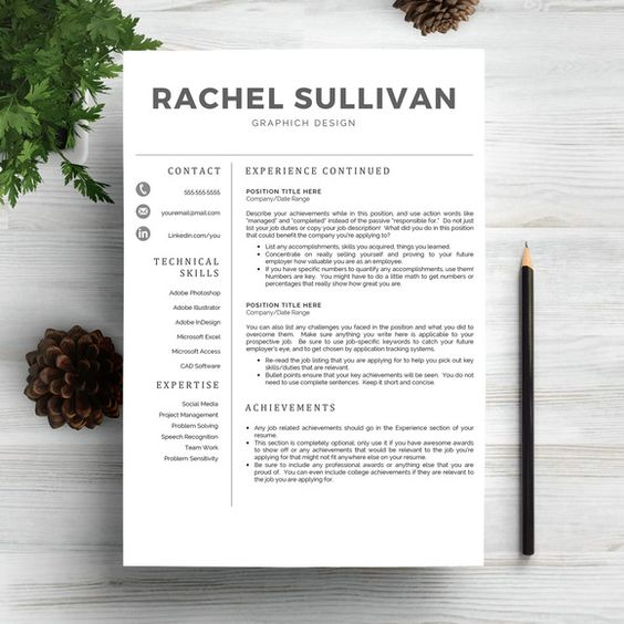 Check out Personal Trainer Resume by Pixip Icons on Creative - personal training resume