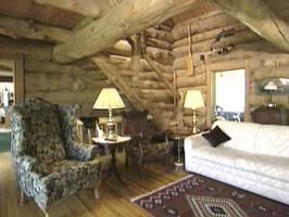 Log Cabin Expansion : Before & After :  HGTV Pat Simpson - Host