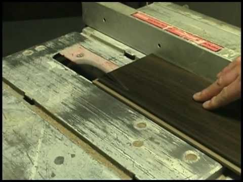 A video step by step guide to installing laminate flooring for Finishing a basement step by step guide