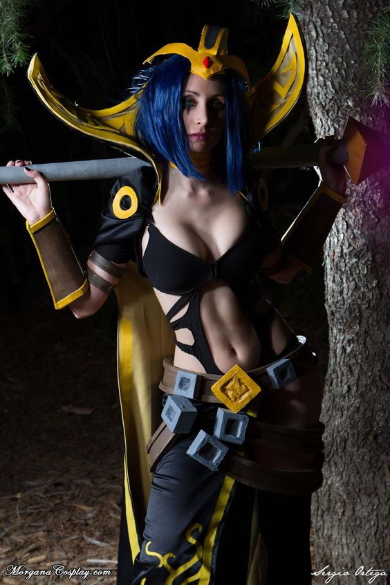 LeBlanc Cosplay. League of Legends. by Morganita86.deviantart.com on @DeviantArt