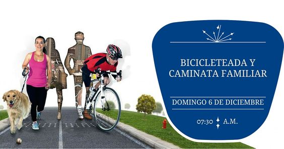 """Bicicleteada y Caminata Familiar - """"Tu salud nuestra meta"""",Domingo 06.12.2015 - 07:30 a.m."""