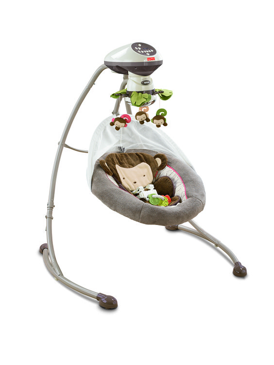fisher price swing so in love with this little monkey