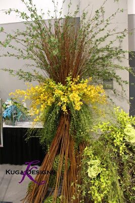 Kuga Designs: AIFD Symposium{the show flowers}
