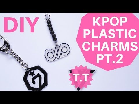Kpop Diy Charms Reusing Plastic Got7 Infinite Seventeen