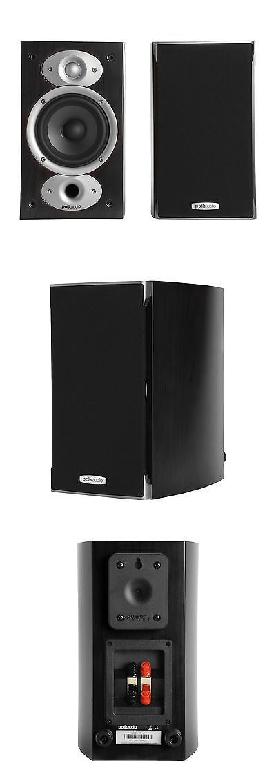Home Speakers And Subwoofers Polk Audio Rti A1 Black Pr Certified Refurbished